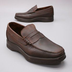 Hitchcock Men's 10.5 6E Extra Wide Penny Loafers